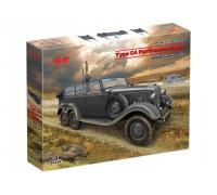 35530 ICM Tип G4 Partisanenwagen, Немецкий автомобиль Второй мировой войны с пулеметным вооружением, 1/35