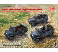 DS3513 ICM Легкие вездеходы Вермахта IIМВ, 1/35