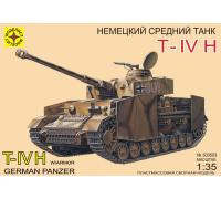 Немецкий танк T-IV H (1:35)