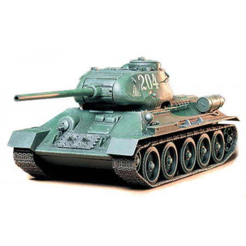 Советский танк Т-34 85 с двумя фигурами танкистов. Ограниченный выпуск.