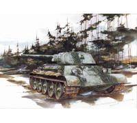 6205 Танк T-34/76 модификация 1941