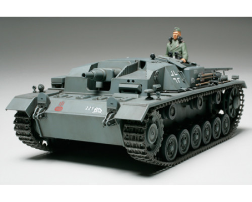 Sturmgeschutz III Ausf. B с внутр.интерьером, металлич.стволом, решетками фототравления, 1 фигура