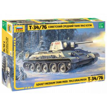 "zv3689 Советский средний танк ""Т-34/76"" 1943 УЗТМ"
