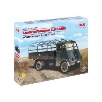 35416 ICM Lastkraftwagen 3,5 t AHN, грузовой автомобиль германской армии 2МВ, 1/35