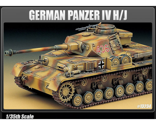 Танк GERMAN PANZER IV H/J (1:35)