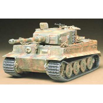 Сборная модель тяжёлого немецкого танка TIGER I Ausf.E (поздняя версия)
