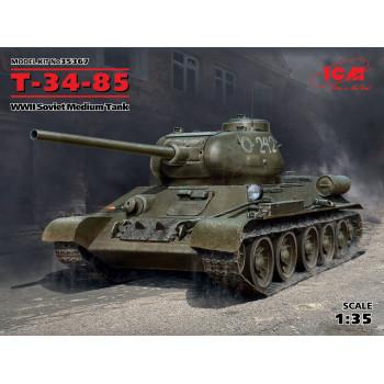 Т-34-85, Советский средний танк ІІ МВ сборная модель