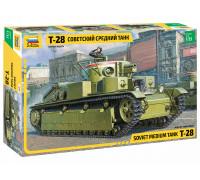 "Советский средний танк ""Т-28"""