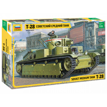 "zv3694 Советский средний танк ""Т-28"""