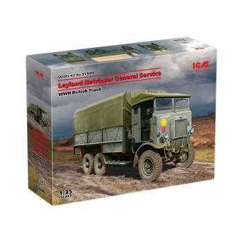 35600 ICM Leyland Retriever General Service, Британский грузовой автомобиль IIМВ, 1/35