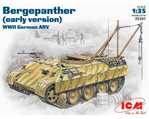35341 ICM Танк Бергепантера (ранний вариант), 1/35