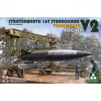 2123 1/35 STRATENWERTH 16t STRABOKRAN 1944/45 PRODUCTION + VIDALWAGEN ROCKET V2