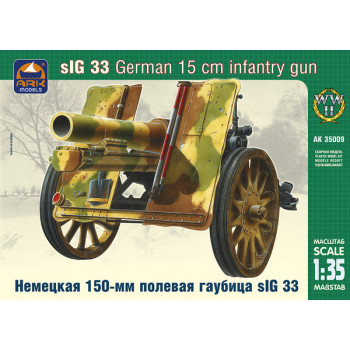 Немецкая 150-мм полевая гаубица