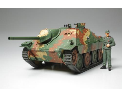1/35 Нем. самох.установка Hetzer Mid Production, 2 типа траков (винил и пластик), 1 фигура, 4 вар-та декалей.