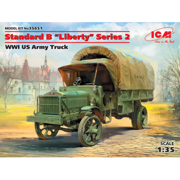 Standard B Liberty 2-й серии, Американский грузовой автомобиль І МВ сборная модель