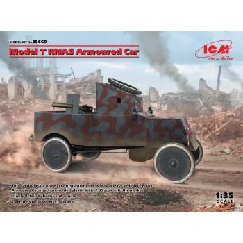 35669 ICM Бронеавтомобиль Model T RNAS, 1/35