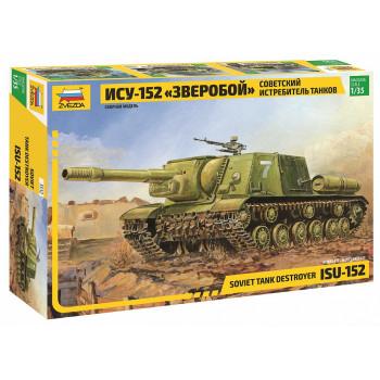 "zv3532 Самоходка ""ИСУ-152"""