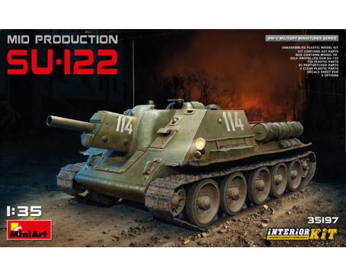 35197 СУ-122 с Полным Интерьером
