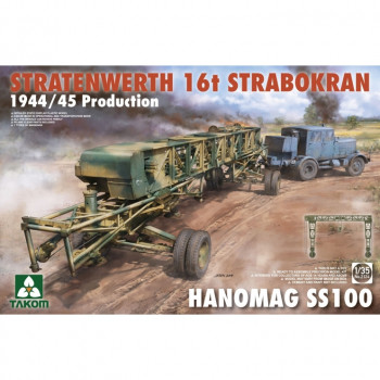 2124 1/35 STRATENWERTH 16t STRABOKRAN 1944/45 PRODUCTION + HANOMAG SS100