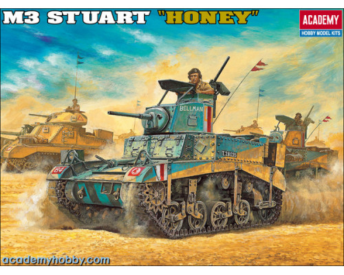 Танк M3 Stuart Honey (1:35)