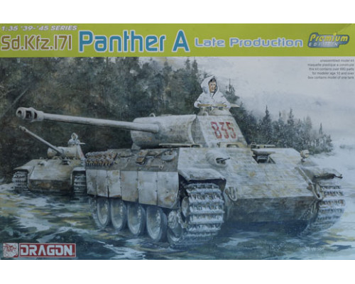 6358 Танк PANTHER A Поздний (PREMIUM EDITION)