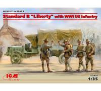 "Стандартный грузовик ""Liberty"" с пехотой США І МВ"