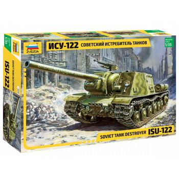 zv3534 Советский истребитель танков ИСУ-122