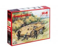 35342 ICM Бергепантера с немецким танковым экипажем, 1/35