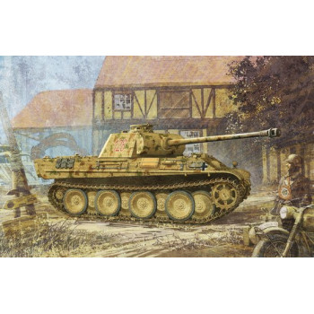 Танк Panther G w/Zimmerit