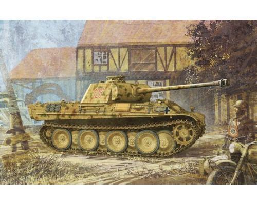 6384 Танк Panther G w/Zimmerit