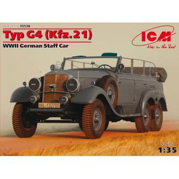 Typ G4 (Kfz.21), Германский штабной автомобиль ІІ МВ сборная модель