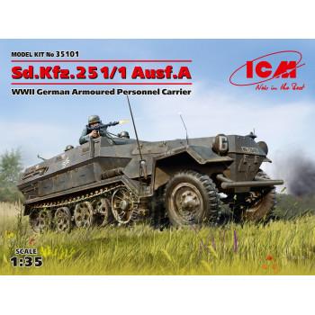 Sd.Kfz.251/1 Ausf.A, Германский бронетранспортер ІІ МВ сборная модель