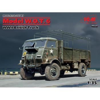 Model W.O.T. 6, Британский грузовой автомобиль ІІ МВ сборная модель