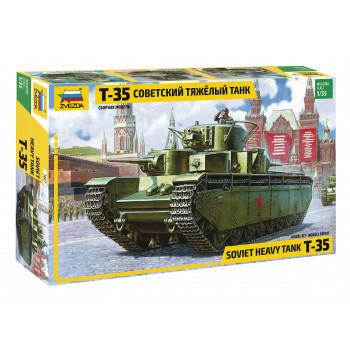 zv3667 Советский тяжелый танк Т-35