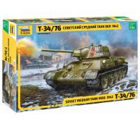 Советский средний танк Т-34/76, обр. 1942 г.