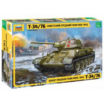 zv3686 Советский средний танк Т-34/76, обр. 1942 г.