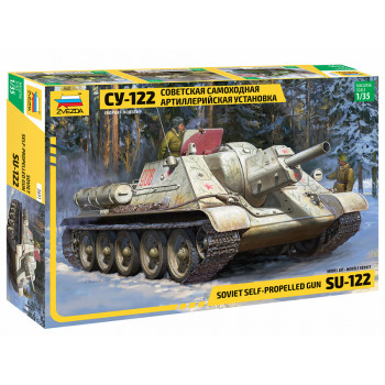 "zv3691 Советский истребитель танков ""Су-122"""