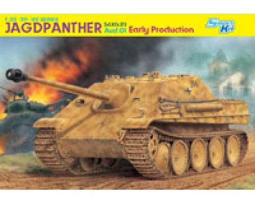 6458 Танк Sd.Kfz. 173 JAGDPANTHER G1 Ранний