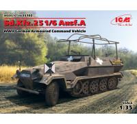 Sd.Kfz.251/6 Ausf.A, Германский командный бронетранспортер ІІ МВ