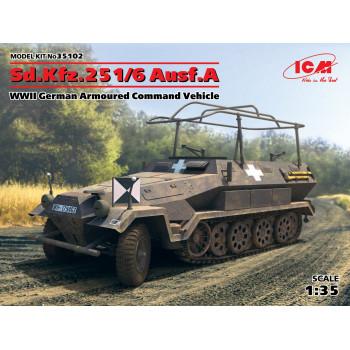 Sd.Kfz.251/6 Ausf.A, Германский командный бронетранспортер ІІ МВ сборная модель