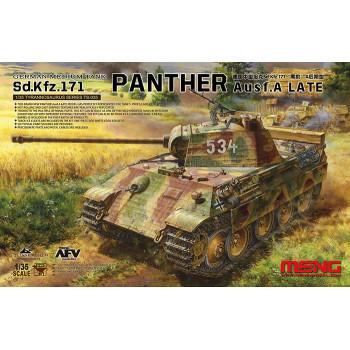 Немецкий средний танк Sd.Kfz.171 PANTHER Ausf.A LATE