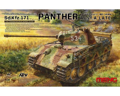 TS-035 Немецкий средний танк Sd.Kfz.171 PANTHER Ausf.A LATE
