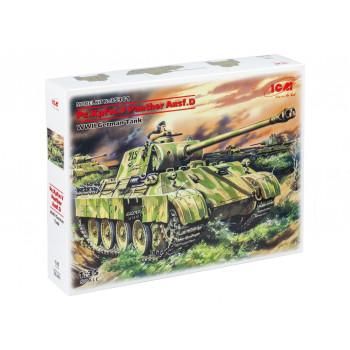 35361 ICM Pz.Kpfw. V Panther Ausf.D, Германский танк ІІ Мировой войны, 1/35