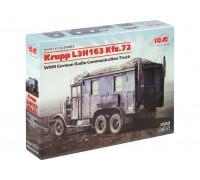 35462 ICM L3H163 Kfz.72, немецкий автомобиль радиосвязи, 2МВ, 1/35