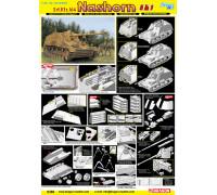 6459 Танк Sd.Kfz. 164 Nashorn (4 in 1)