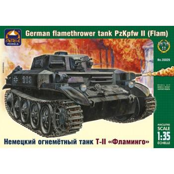 "Немецкий огнеметный танк ТII ""Фламинго"""