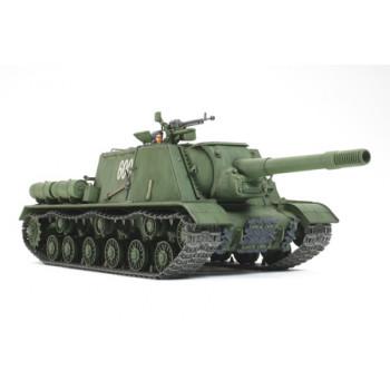 1/35 Советское тяжелое самоходное противотанковое орудие ИСУ-152 (Зверобой), с двумя фигурами, набором фототравления и двумя типами траков