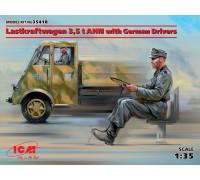 Lastkraftwagen 3,5 t AHN с германскими водителями