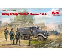 Группа армий «Центр» лето 1941 г. (Kfz.1, Typ L3000S, германская пехота (4 фигуры), германские водители (4 фигуры))