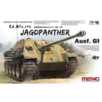 Немецкая САУ Sd.Kfz.173 Jagdpanther G1